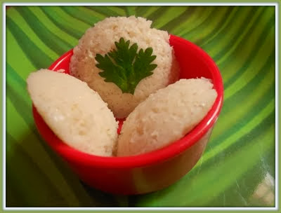 red rice idli