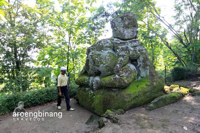 situs arca ganesha dawangsari sleman yogyakarta