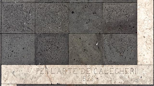 PER L'ARTE DE CALEGHERI 1625
