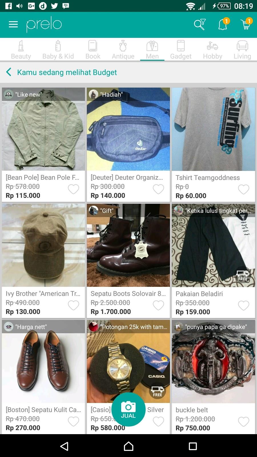 Mudahnya Menjual Barang Bekas di Prelo! - blog mas hendra 3bbe63d8d1