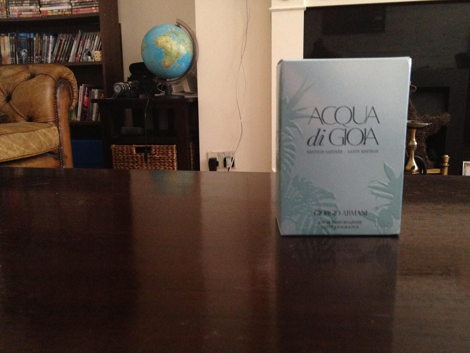 BEAUTY | New Fragrance Giorgio Armani Acqua di Gioia