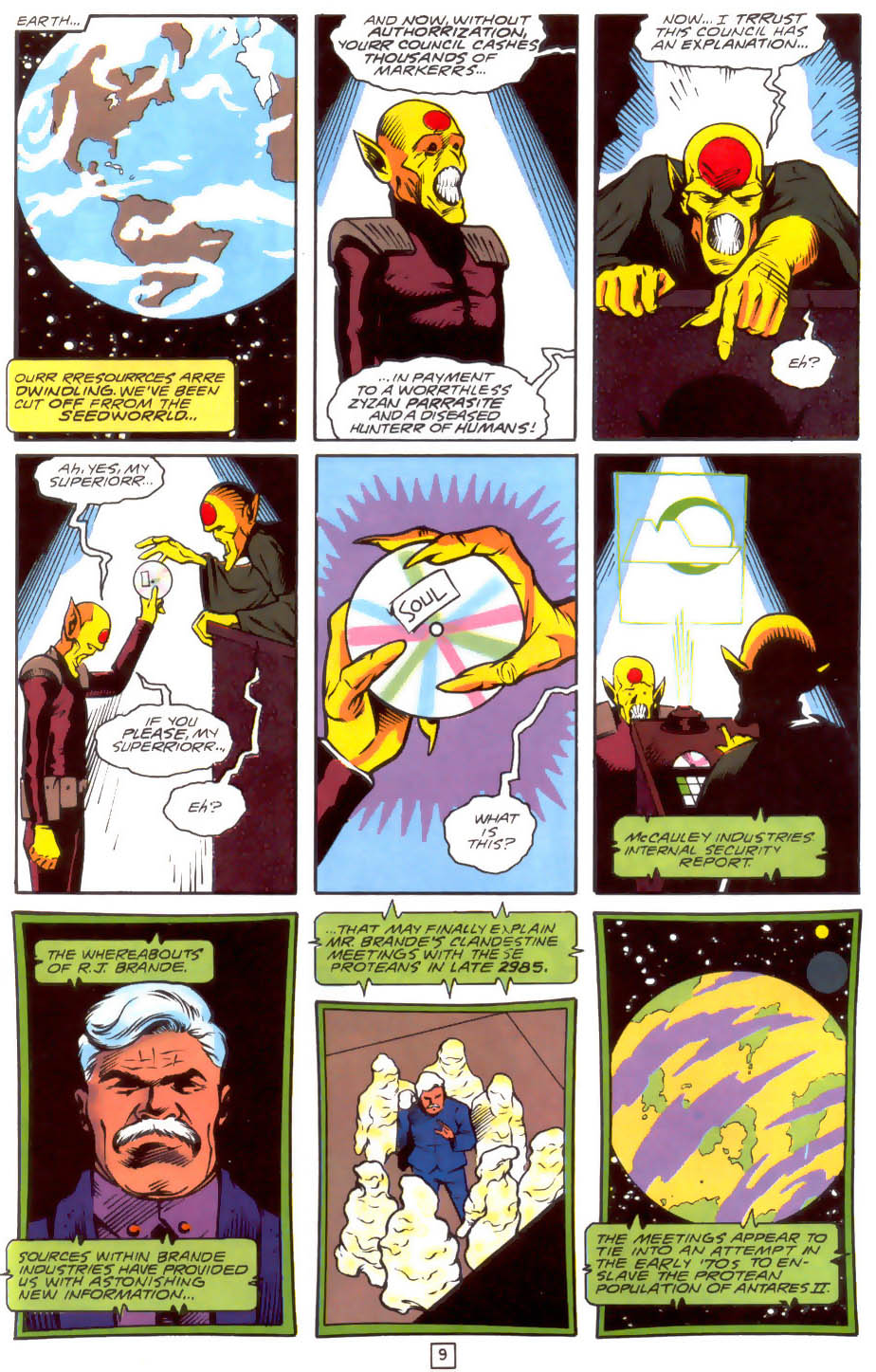 Legion of Super-Heroes (1989) 33 Page 9