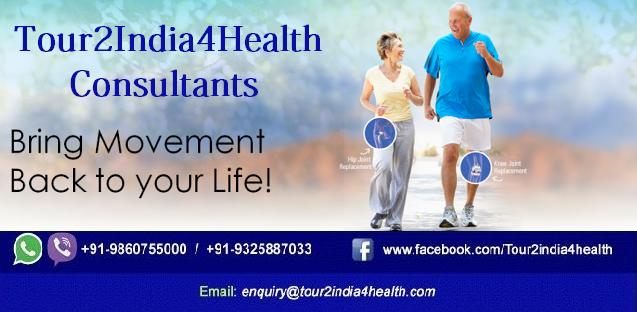 Knee Replacement Surgery Cost in India with Tour2India4Health