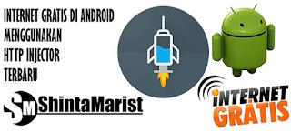 Internet Gratis di Android Menggunakan HTTP Injector Terbaru di Jamin Work 100%