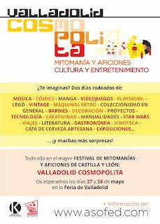 Valladolid COSMOPOLITA Mitomanías y Aficiones