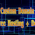 Custom Domain & Free Hosting + Design - விஷேட கழிவுடன்