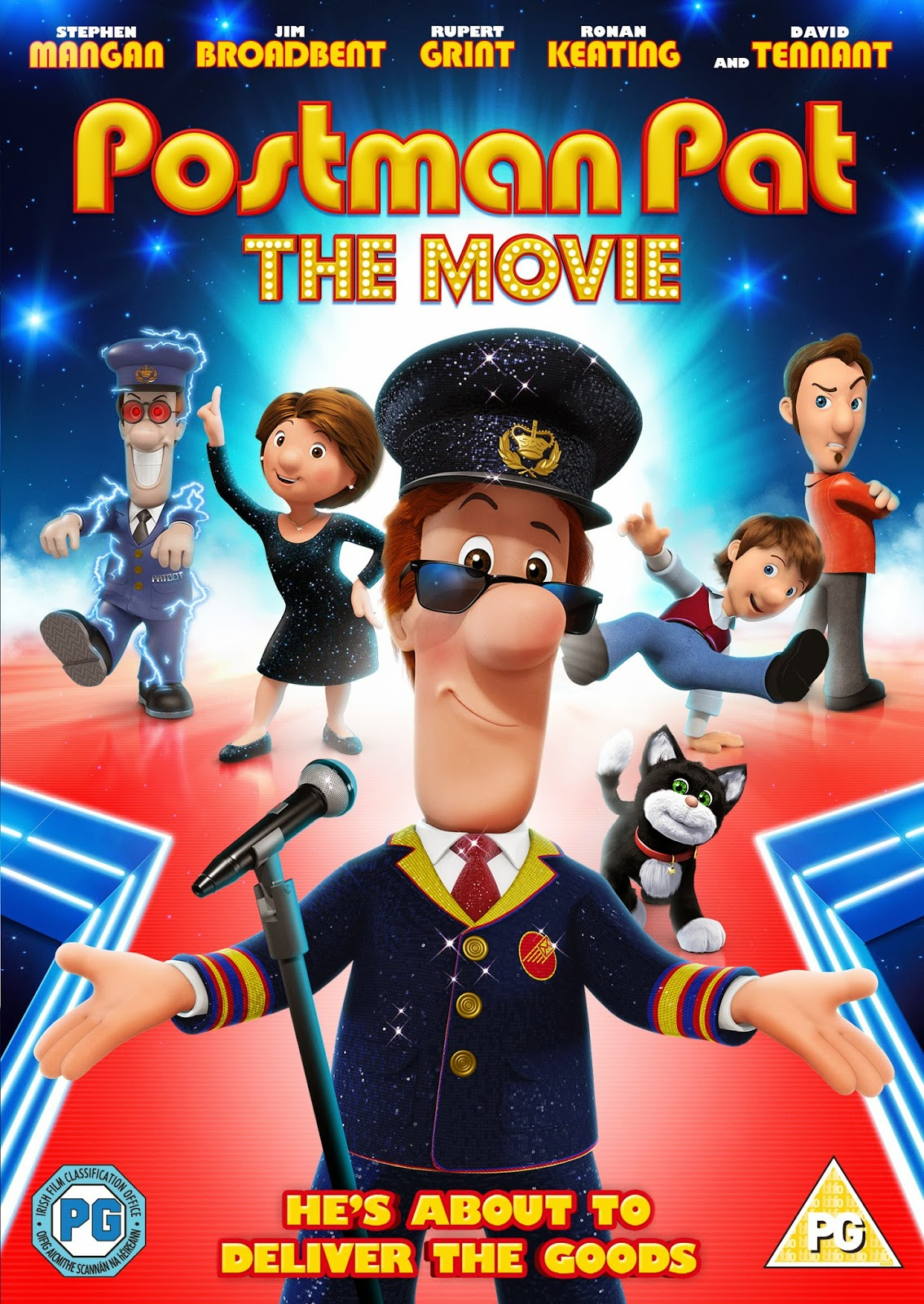 Postman Pat The Movie DVD Review
