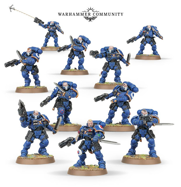 8th edition primaris space marine reivers review