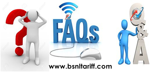 BSNL FAQ - Frequently Asked Question
