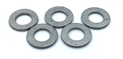 Custom Geomet Coated Washers - M5 Flat Washer With Geomet 500 Finish