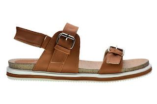 Sandal flip flops Cerelia saralee coklat model terbaru