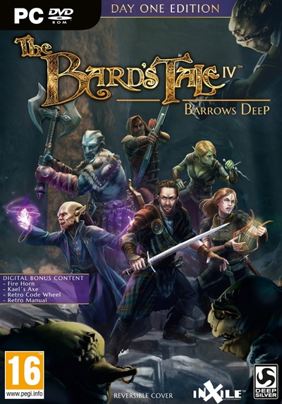 โหลดเกมส์ The Bard's Tale IV: Barrows Deep