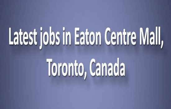 neuvoo™ 【 91 Eaton Centre Job Opportunities in Canada 】 We'll help you find Canada's best Eaton Centre jobs and we include related job information like salaries & taxes. It's quick and easy to apply online for any of the 91 featured Eaton Centre jobs.