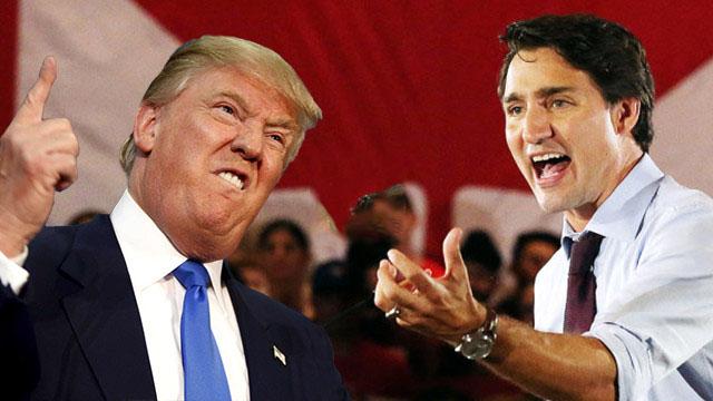 Kanada Trump koltuğunu sallama niyetinde olduğunu duyurdu