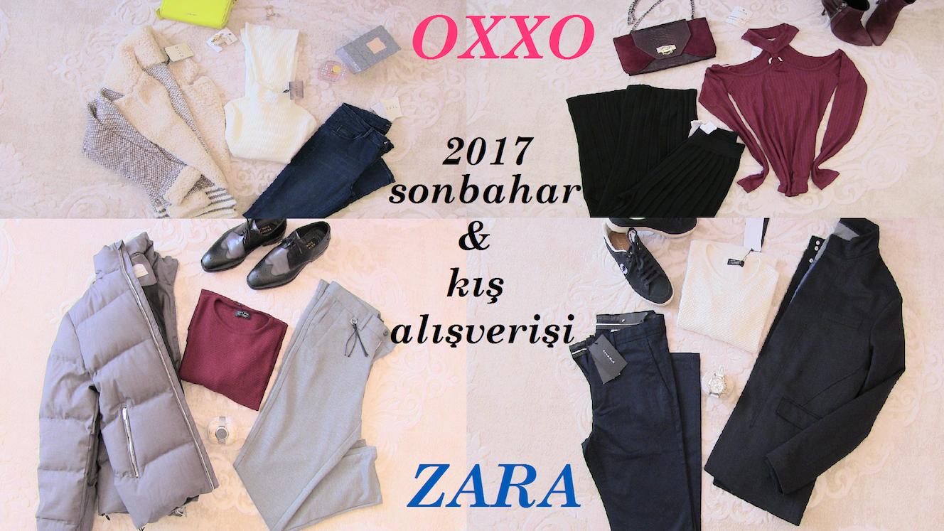 Sonbahar Kış Alışverişi | Kadın & Erkek | OXXO & ZARA