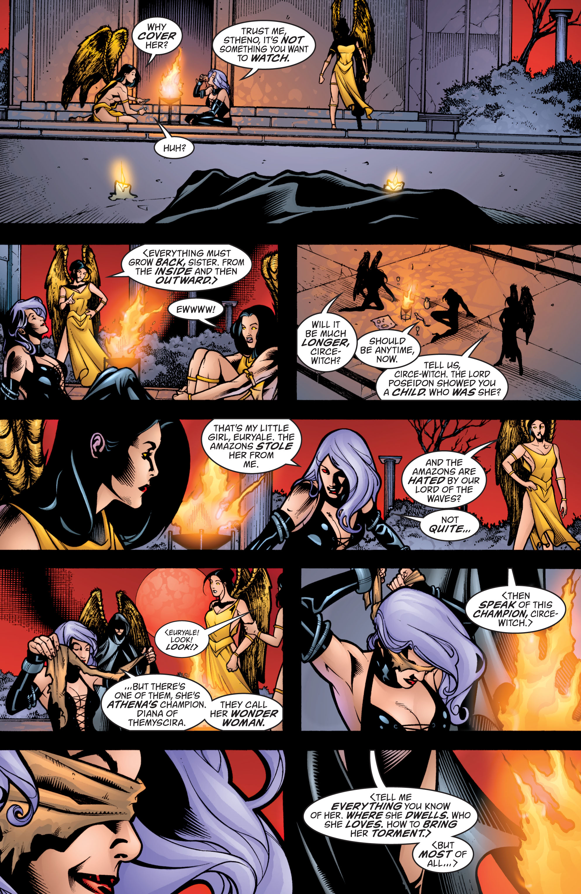 Read online Wonder Woman (1987) comic -  Issue #205 - 22