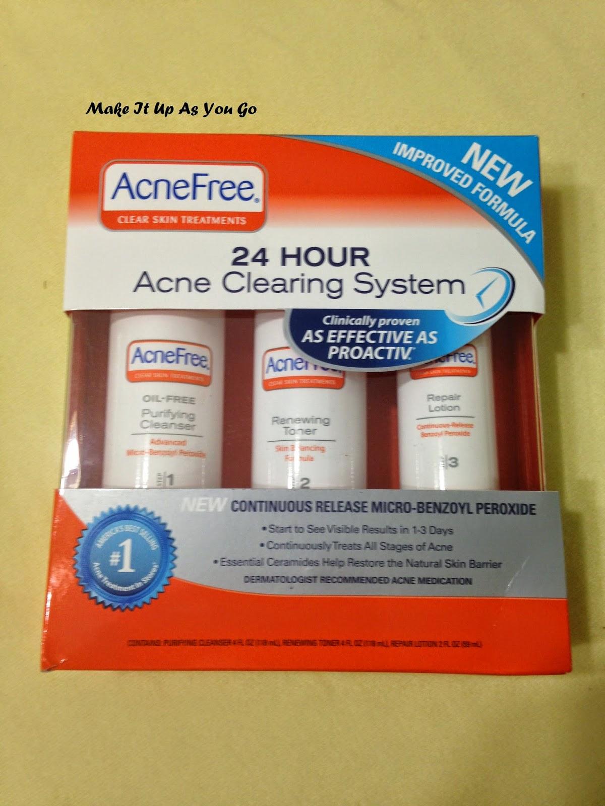 who makes acne free