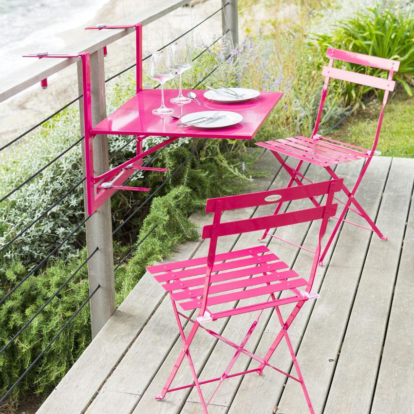 tavole e sedie per balconcini
