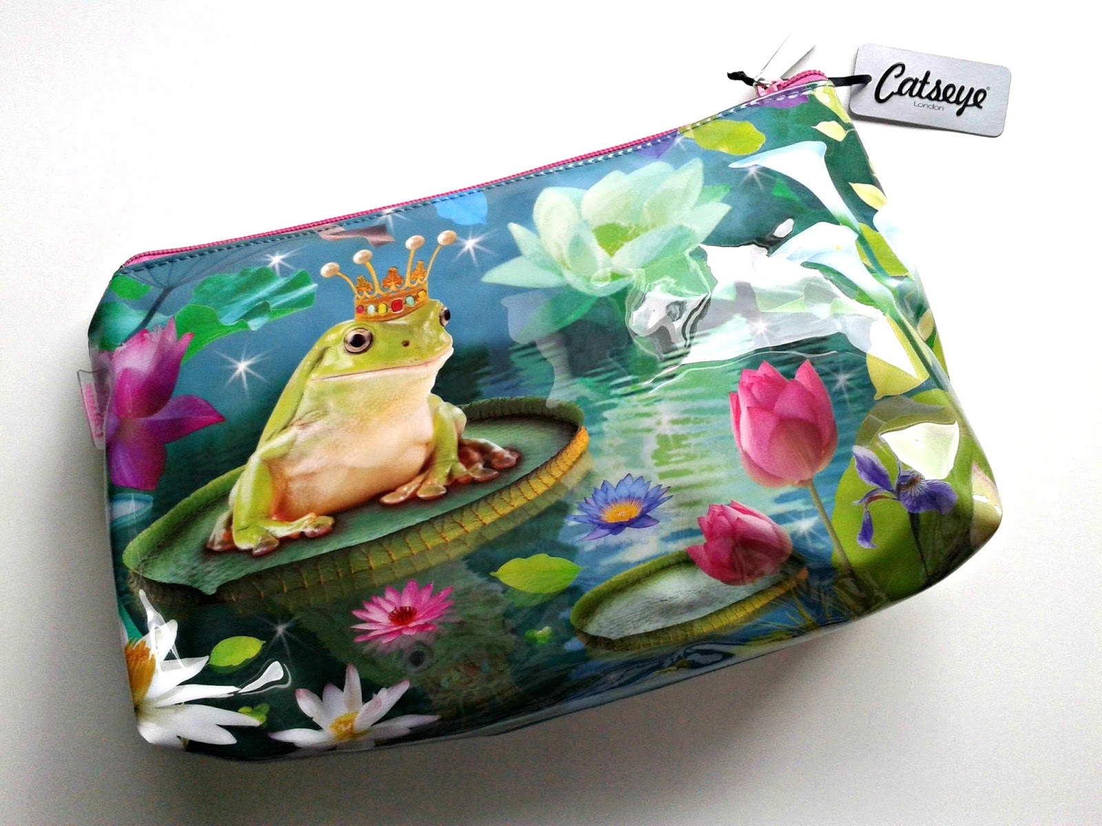 Catseye London Frog Prince Wash Bag Beauty Review Fairytale Collection