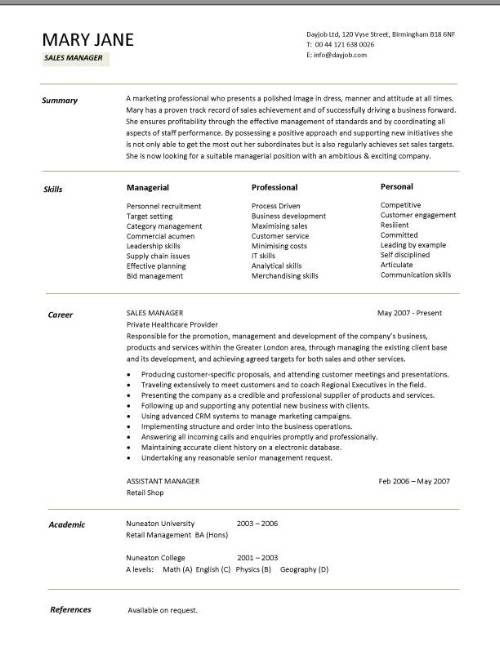 sample business manager resumes - Vatozatozdevelopment - Resume Business Manager