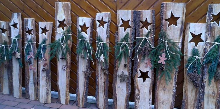 Deko mit der Säge - Holzbretter