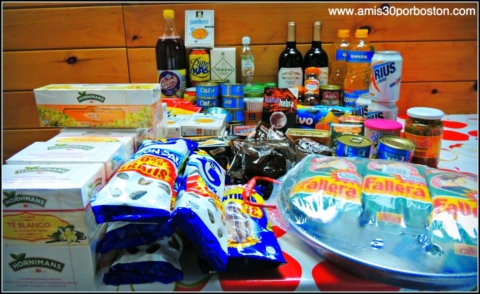 Los Productos Españoles en mis Maletas a Boston