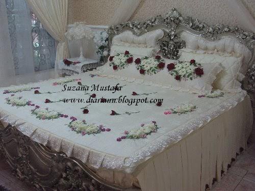 Suzana Mustafa Set Cadar Sulaman Reben