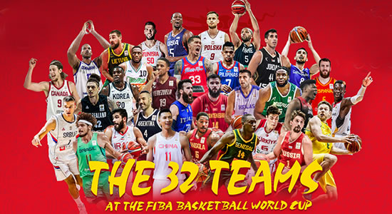 LIST: 32 Qualified Teams 2019 FIBA World Cup
