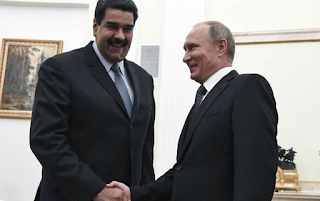 Venezuela's Maduro thanks Putin for support in difficult times