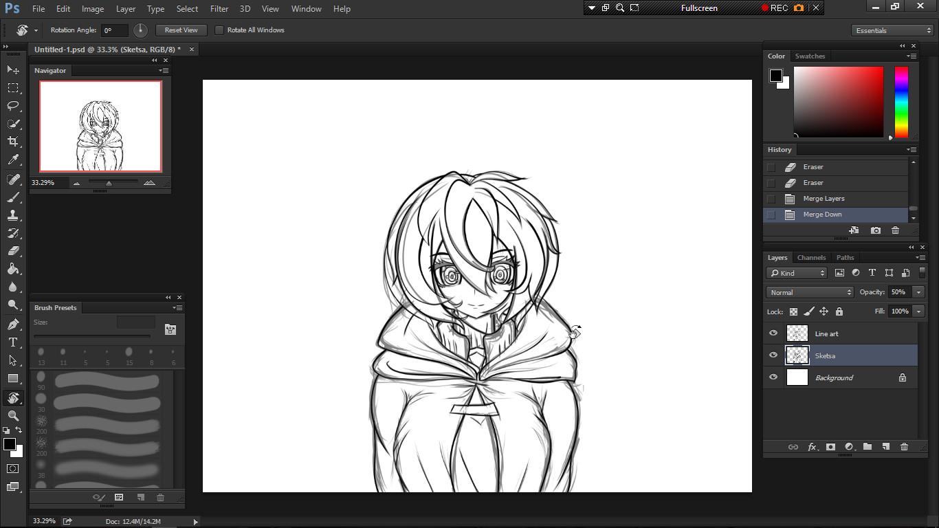 Cara menggambar anime dengan mudah disertakan tips dan triknya