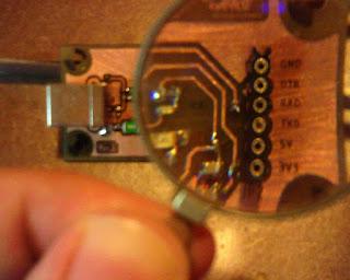 USB to UART converter pinout