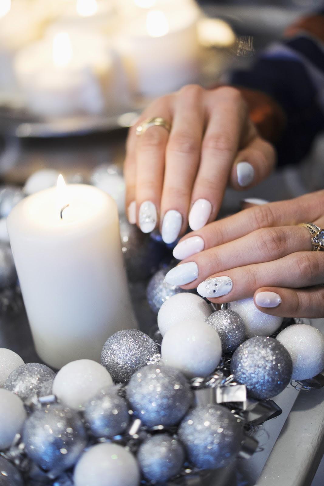 świąteczne Paznokcie Christmas Nails Smoke Signal