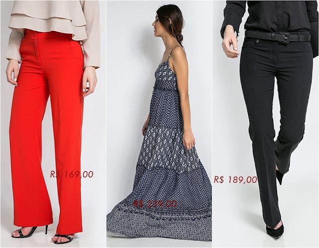 Loja que vende vestido e calça de alfaiataria