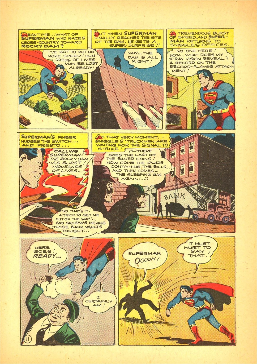 Read online Action Comics (1938) comic -  Issue #72 - 12