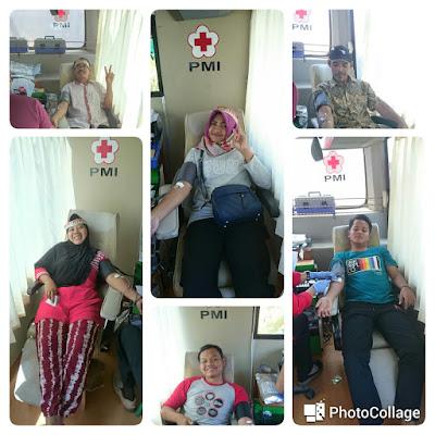 Meriahkan HUT RI ke-73, Forum Warga Sukoharjo dan Yayasan Nurul Huda Adakan Donor Darah