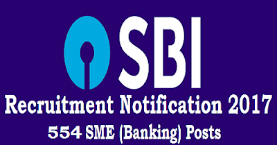 SBI Special Management Executive (Banking) Recruitment 2017