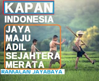 Ramalan Jayabaya Kapan Bangsa Indonesia Akan BerJaya Adil Dan Makmur NATANAGARA Ramalan Jayabaya Kapan Indonesia Maju Berjaya Makmur Sesuai Isi Jangka Ramalan Jayabaya