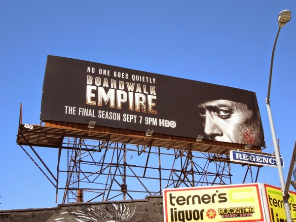 Boardwalk Empire season 5 No one goes quietly billboard