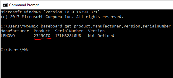 motherboard serial number lookup