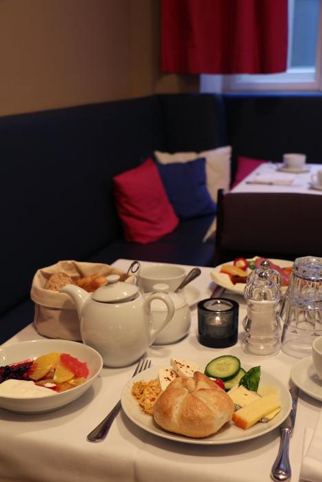 Frühstück im Hotel Altstadt Vienna