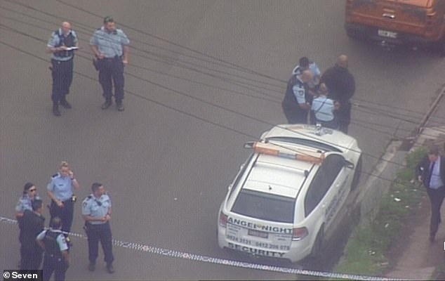 One shot, three arrested after a wild fight outside a gym in Sydney's west