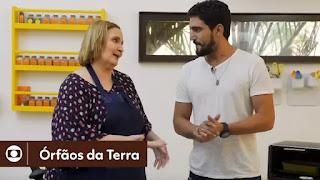 Órfãos da Terra: Renato Góes aprende receita com chef venezuelana Maria El El Warrak