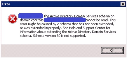 Happy SysAdm: Windows 2003: extending the Schema to R2 for DFS-R