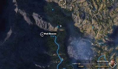 Far Cry 5, Wolf Beacon Locations, West of Hawkeye Tunnel, Call of the Wild
