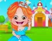Baby Hazel Princess Dressup