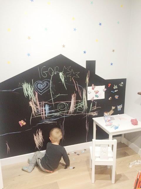 domek na ścianę