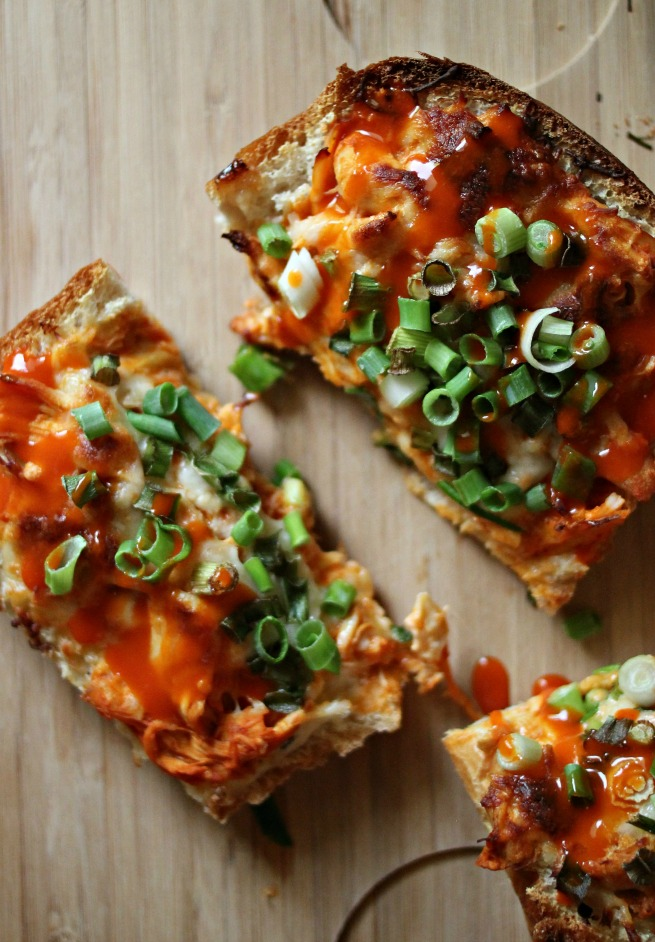 Recipe: Buffalo Chicken French Bread Pizza