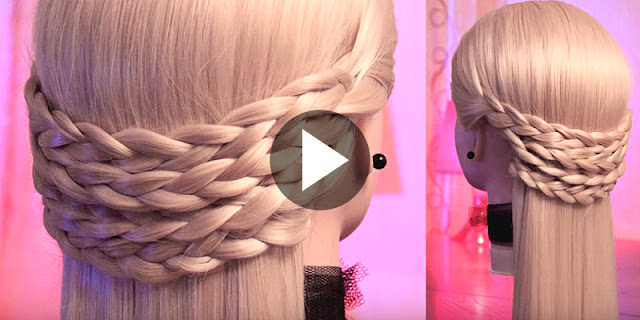 Learn - How To Create Simple Braids Hairstyle Within 2 Minutes, See Tutorial