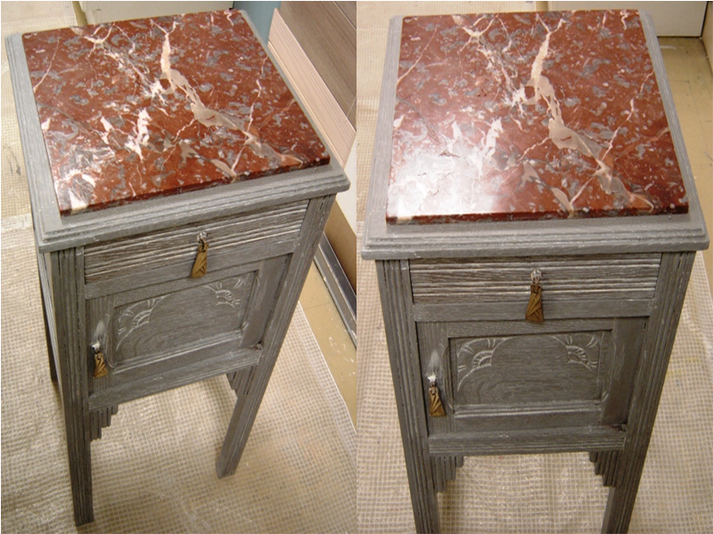 cours de peinture sur meuble effet blanchi patin c rus. Black Bedroom Furniture Sets. Home Design Ideas