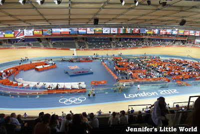 London 2012 Olympics - Track cycling, trampolining, swimming and athletics